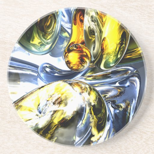 Lost in Space Abstract Coaster
