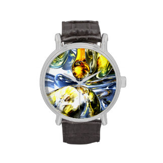 Lost in Space Abstract Wrist Watch