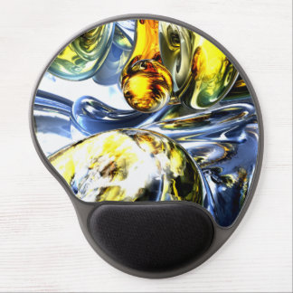 Lost in Space Abstract Gel Mouse Pad
