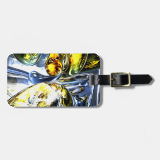 Lost in Space Abstract Travel Bag Tag