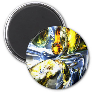 Lost in Space Abstract Magnet