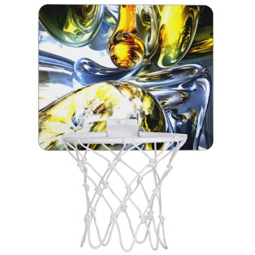 Lost in Space Abstract Mini Basketball Hoop