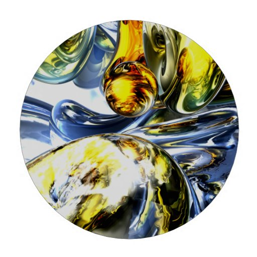 Lost in Space Abstract Poker Chips