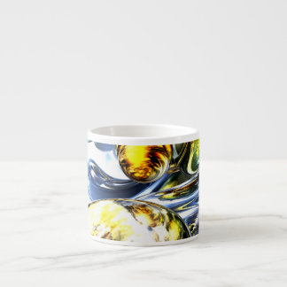 Lost in Space Abstract Espresso Mug