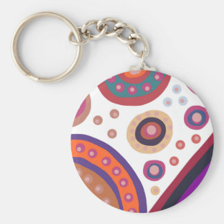 Lost In Space Basic Round Button Key Ring