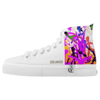 LOST IN SPACE HIGH TOPS