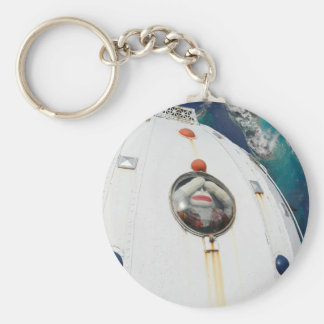 Lost in Space Monkey Basic Round Button Key Ring