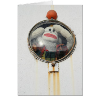 Lost in Space Monkey Greeting Card