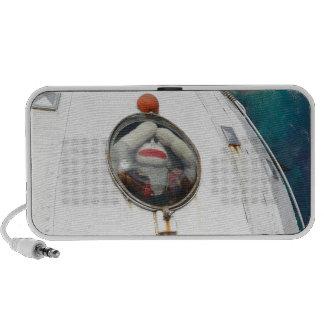Lost in Space Monkey Travelling Speaker