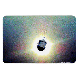 Lost in space RF Rectangular Photo Magnet