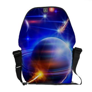 Lost In Space Rickshaw Messenger Bag
