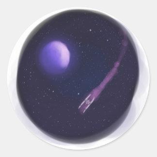 Lost In Space Round Sticker