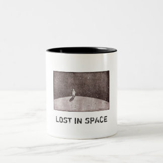 Lost in space Two-Tone coffee mug