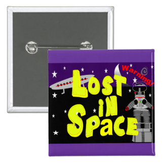 Lost in Space Vintage Art 1965 Will Robinson Button