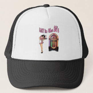 Lost in the 50's trucker hat