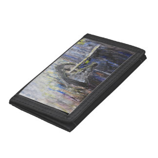 Lost in the Dark Trifold Wallets