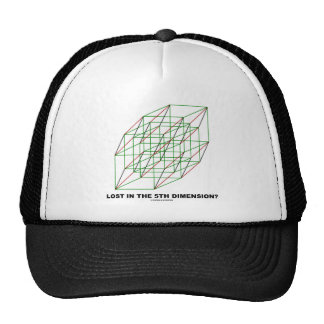Lost In The Fifth Dimension? (Geometry Attitude) Trucker Hat