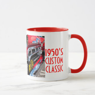 Lost in the Fifties Custom Truck Mug