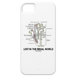 Lost In The Renal World (Kidney Nephron) Case For The iPhone 5
