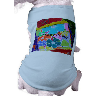 Lost in the sixties Hippy Puppy shirt Sleeveless Dog Shirt