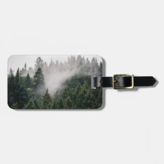 Lost in the woods luggage tag