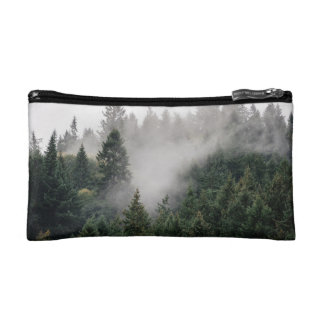 Lost in the woods makeup bag