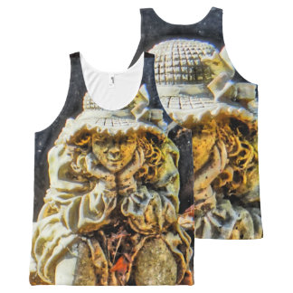 Lost in Thought All-Over Print Singlet
