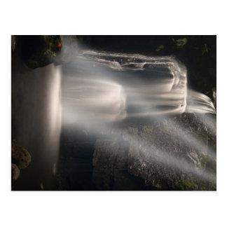 Lost Love Waterfall Postcard