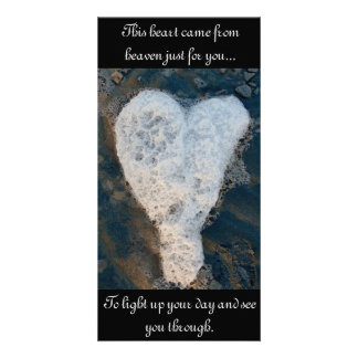 Lost loved one photo greeting card