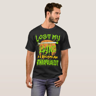 Lost My Wand I Became Anthropologist Halloween Tee