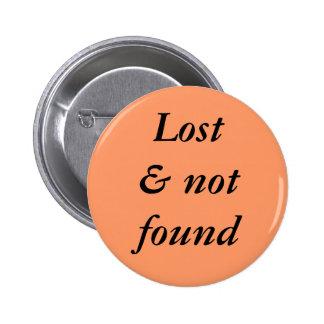 Lost not found button