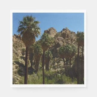Lost Palms Oasis I at Joshua Tree National Park Disposable Napkins