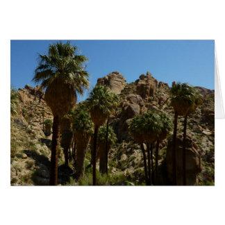 Lost Palms Oasis I at Joshua Tree National Park Greeting Card
