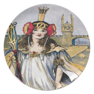 Lost Princess of Oz Plate