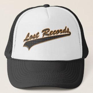 Lost Records Baseball Hatl Trucker Hat