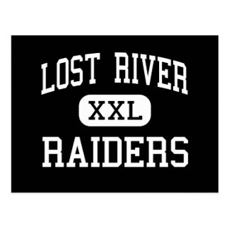Lost River - Raiders - High - Merrill Oregon Postcard