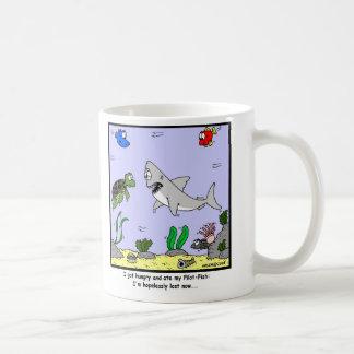 Lost: Shark Cartoon Coffee Mug