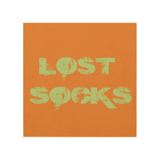 LOST SOCKS SIGN