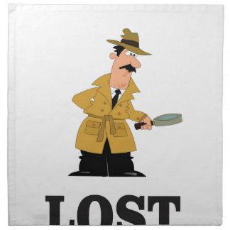 lost something napkin