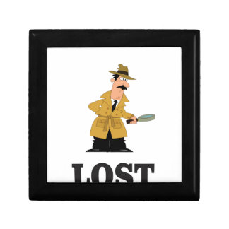 lost something small square gift box