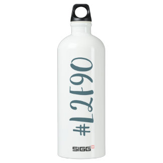 Lost to Found in 90 Days SIGG Traveller 1.0L Water Bottle