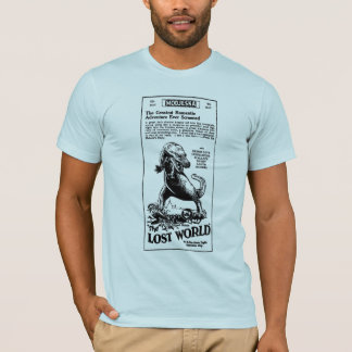 Lost World 1925 Arthur Conan Doyle novel T-Shirt