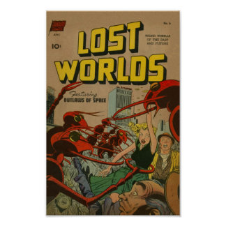 Lost Worlds Print