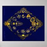Lost Zodiac of Rudolf Steiner Poster