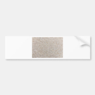 Lot of grey gravel stones as background bumper sticker
