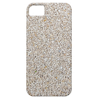 Lot of grey gravel stones as background iPhone 5 case