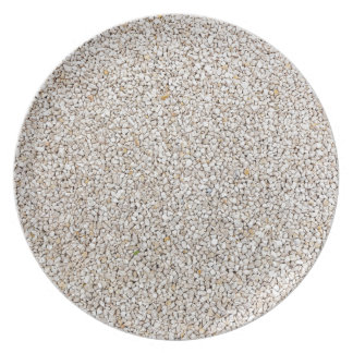 Lot of grey gravel stones as background plate