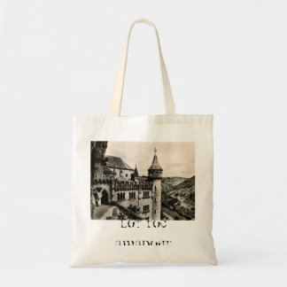 Lot ROC Amadour Religious City France 1950 Budget Tote Bag