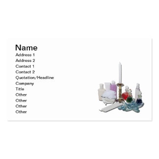 Lotion Potion Candles Relaxation Pack Of Standard Business Cards