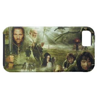 LOTR Movie Poster Art iPhone 5 Cases